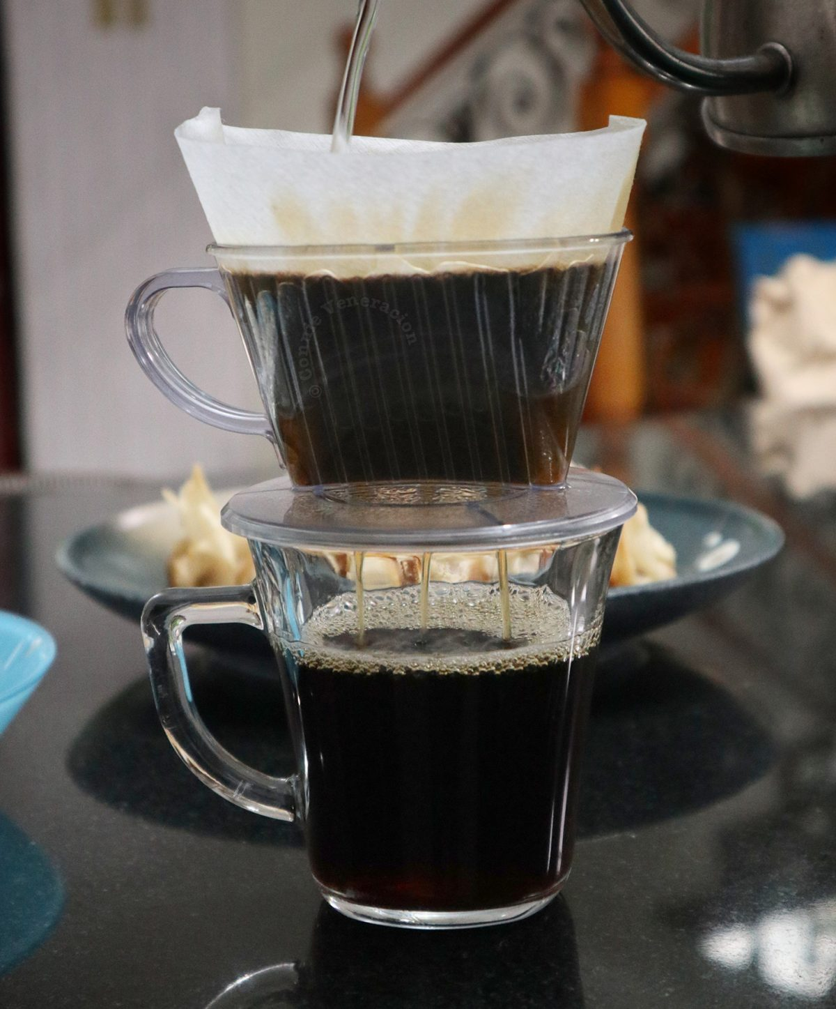 Pour Over Coffee Drip with Paper Filter