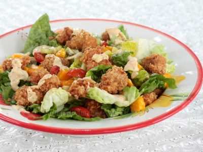 Popcorn Chicken Salad Recipe