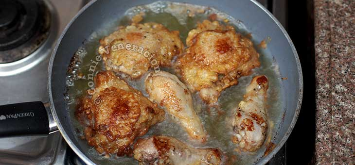 Cooking 18th Century Fried Chicken
