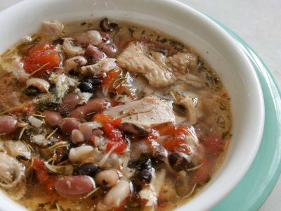 Chicken and Beans Soup