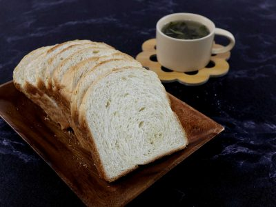 Home baked white bread