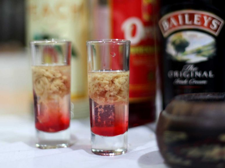 Brain Hemorrhage Halloween Cocktail