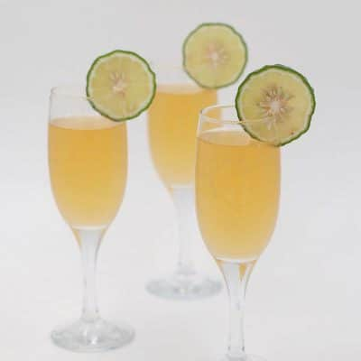 Lime Juice Mimosa