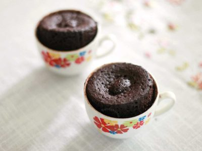Microwave Chocolate Mug Cakes