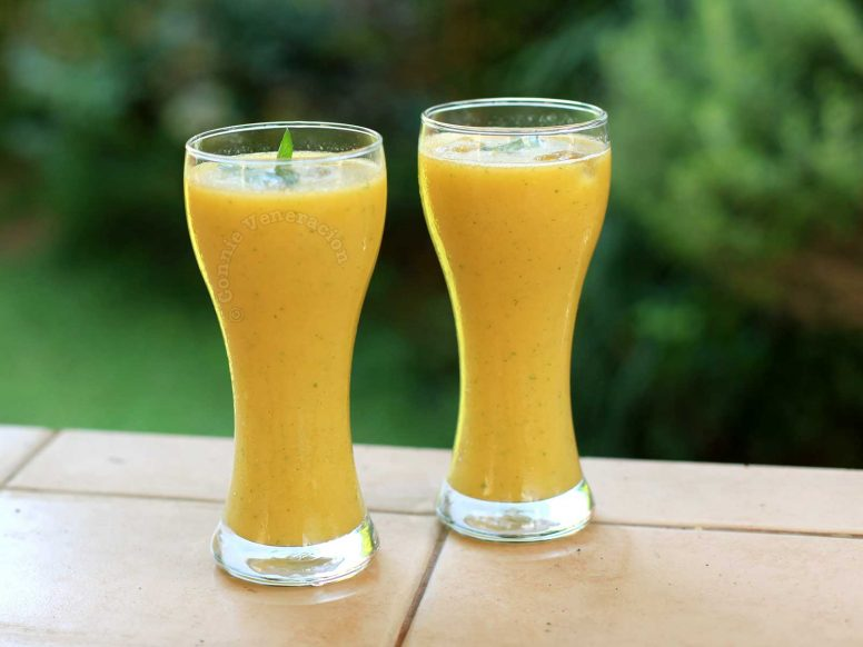 Summer drink: Mango, Cucumber and Mint Smoothie