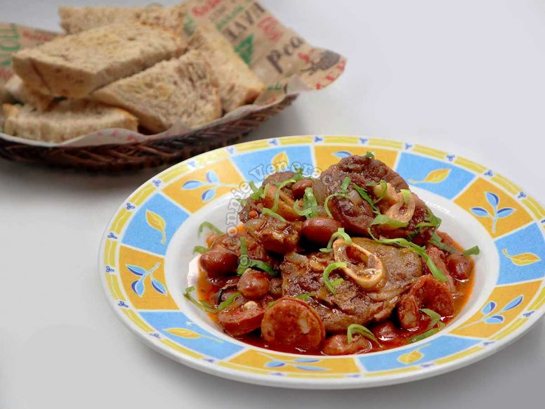 Cold Weather Perfect Lamb and Bean Stew
