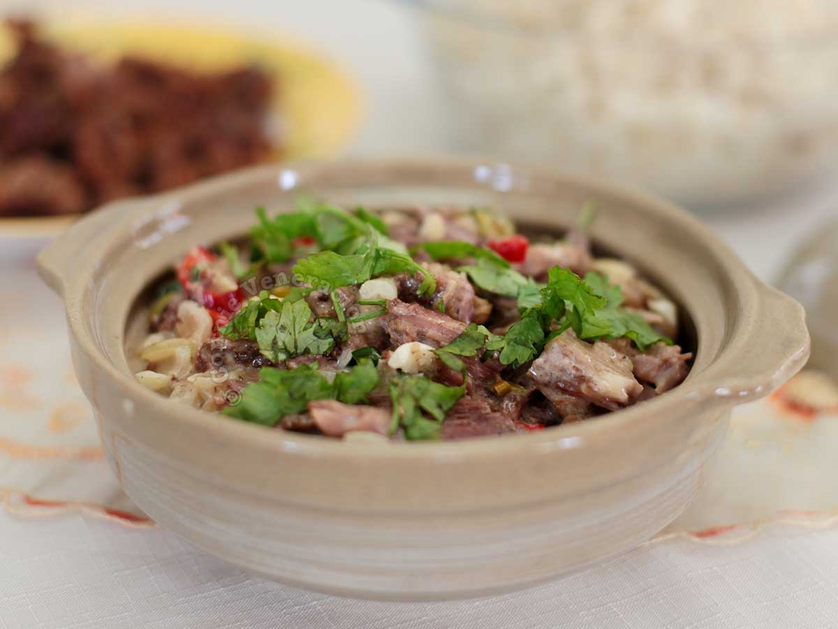 Spicy Beef and Coconut Stew in Claypot