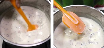 Cooking cream of mushroom soup at home